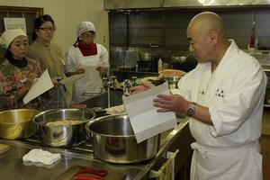 精進料理を学ぶ