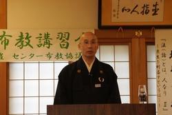 坂川資樹老師(特派布教師・北海道晃徳寺住職)