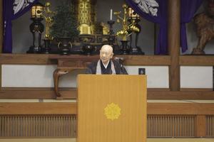 奈良康明老師(大本山永平寺西堂)